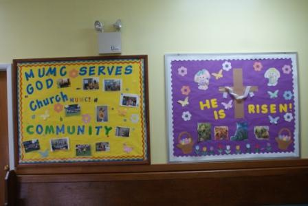 Sunday School and VBS Bulletin Boards
