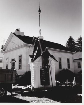 Raising of the Bell Tower and Steeple